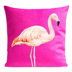 Coussin Flamand Rose Velours | ART PILO